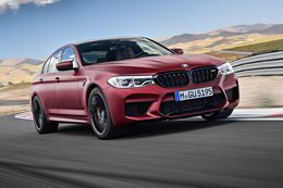 BMW M5 first edition cover MAIN