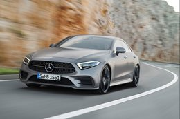 2018 Mercedes CLS offers peep at Benz design path