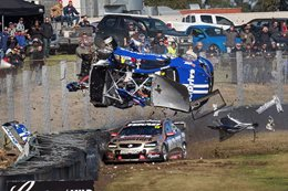 Nine of the gnarliest motorsport crashes in 2017