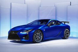 Lexus LC F to debut potent new 4.0L twin-turbo V8 in 2019