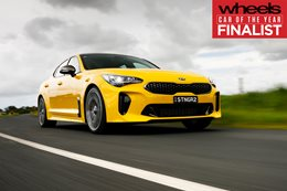 Kia Stinger 2018 Car of the Year Finalist