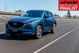 Mazda CX-5 2018 Car of the Year Finalist