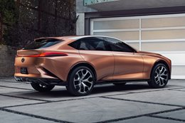 2018 Detroit Motor Show Lexus switches focus to lifestyle branding