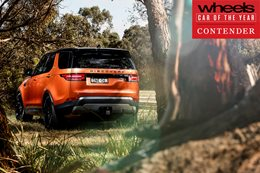 Land Rover Discovery 2018 Car of the Year contender