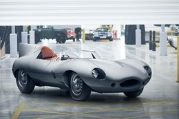 Jaguar D-Type returns to production after more than 60 years
