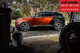 Peugeot 3008 2018 Car of the Year contender