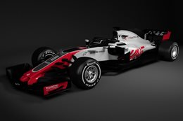 Haas F1 reveals first 2018 Formula 1 contender