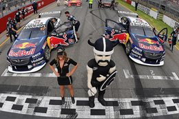 Ford and Holden teams engage in war of words as ZB clean sweeps Adelaide 500