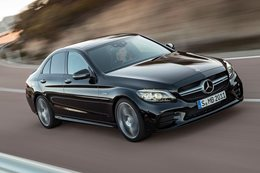 2018 Mercedes AMG C43 updated front 34 dynamic 1