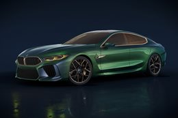 2018 Geneva Motor Show BMW reveals M8 Grand Coupe Concept