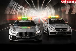 Battle of the safety cars