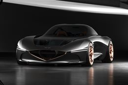 2018 New York Motor Show 2018 Genesis Essentia Concept revealed