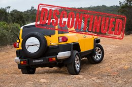 Toyota FJ Cruiser discontinued