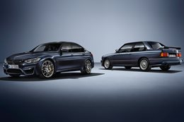 BMW M3 30 Jahre launched
