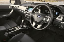 Ford Ranger interior