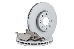Brake pads and brake rotors