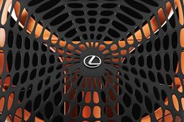Paris Motor Show Lexus Kinetic Seat Concept
