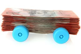 money on wheels