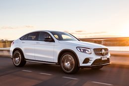 2017 Mercedes-Benz GLC 250d Coupe