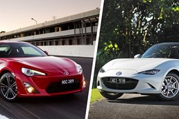 2016 Toyota 86 vs Mazda MX-5