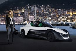 Nissan electric future with Margot Robbie
