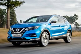 Nissan Qashqai front side