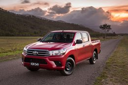 Toyota Hilux 2016 best selling car