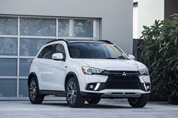 Possible 2018 Mitsubishi ASX facelift