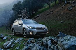 2018 Subaru Outback revealed in New York