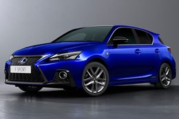 2018 Lexus CT 200h update revealed