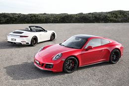 2018 Porsche 911 GTS pricing and features