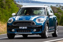 2017 Mini Cooper SD All4 Countryman quick review