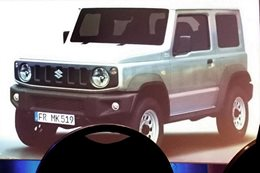2019 Suzuki Jimny outed in leaked images