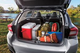 2017 Subaru XV boot space