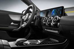 Next-gen Mercedes-Benz A-Class interior revealed