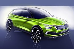 Skoda Vision X concept previews new small SUV