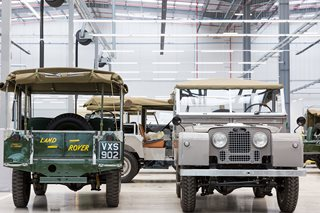Jaguar Land Rover vehicles