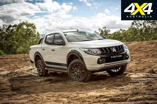 2018 Mitsubishi Triton Blackline released