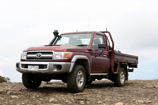 Toyota LandCruiser 79 GXL Single Cab