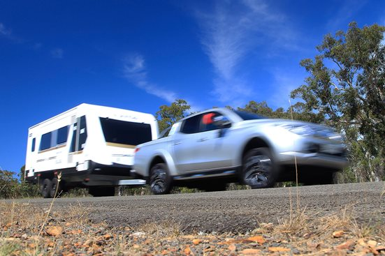4x4 ute tow test main