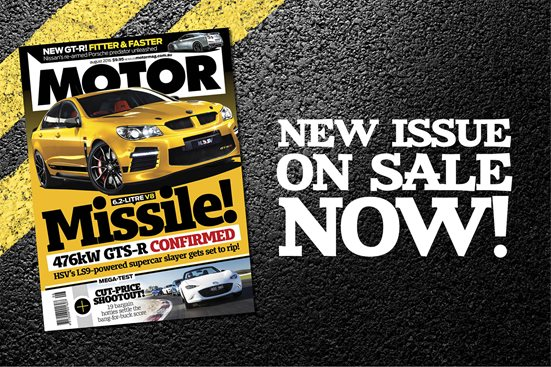 MOTOR August issue preview