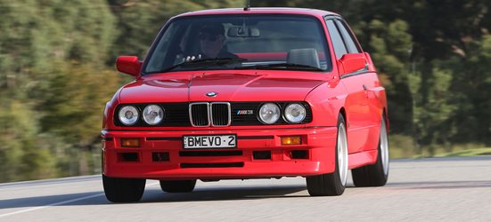 BMW M3 E30 Evolution II front