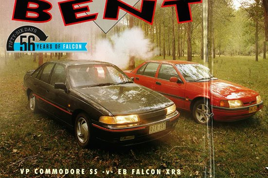 1992 Holden Commodore vs Ford Falcon