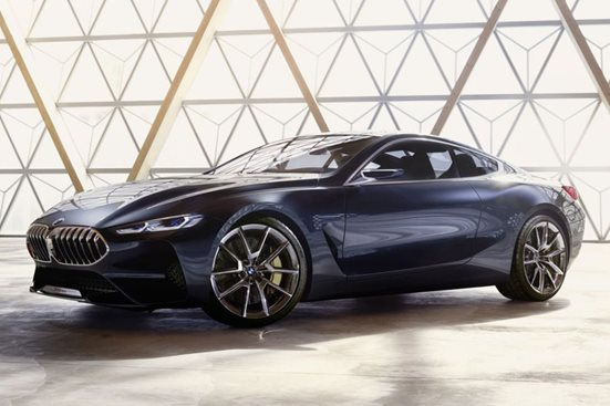 BMW 8-Series concept pics leaked ahead of official reveal