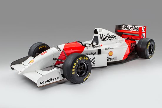 Two of Ayrton Sennas Monaco winning GP cars are up for sale