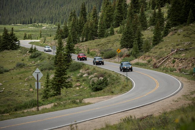 FJ Event Colorado 2014 on the road