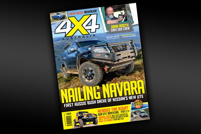 July issue of 4X4 Australia on sale now