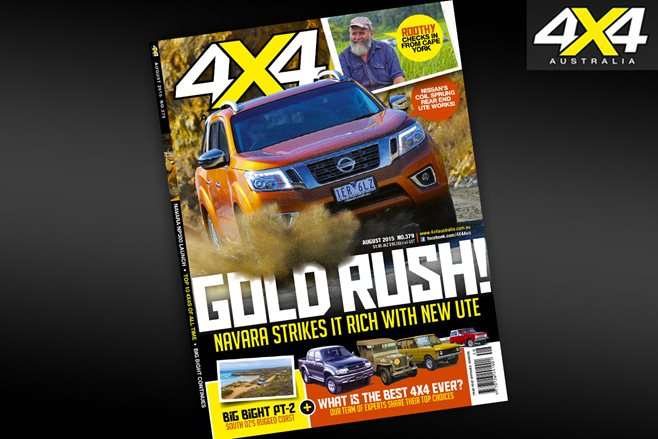 4X4 Australia August Issue On Sale Now