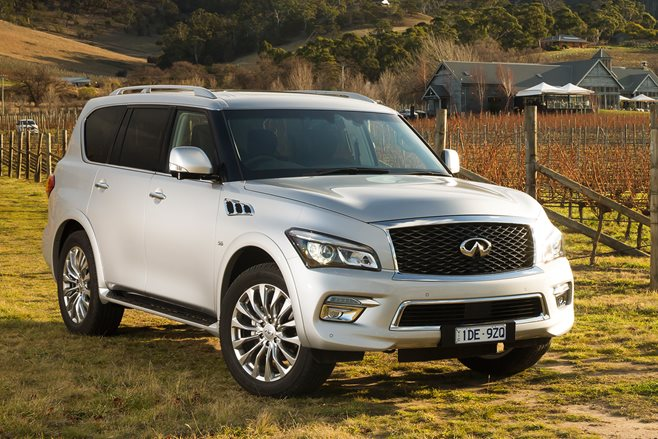 all-mode 4x4 2015 Infiniti QX80 is the new flagship in terms of price ...