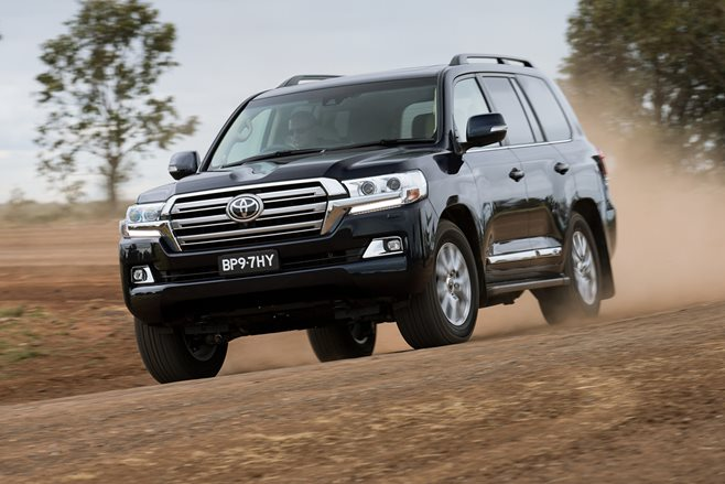 Toyota has revealed its revamped Land Cruiser 200 Series